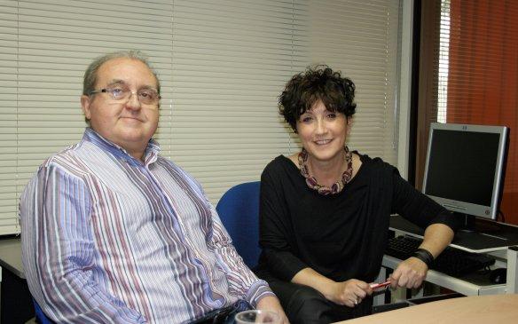 Sofia Maseda i Xavier Manzanera, responsables de Servimetge